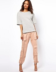 ASOS Trousers with Soft Utility Detailing