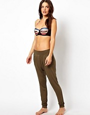 ASOS Slubby Harem Beach Pant