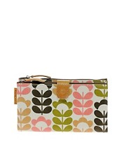 Orla Kiely Sweetpea Double Zip Pouch