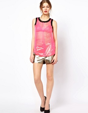 Image 4 ofA Wear Dipped Hem Cami