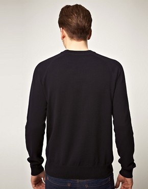 Bild 2 von Fred Perry  Melierter Vintage-Pullover mit Rundhalsausschnitt