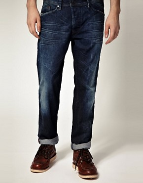 Image 1 ofDiesel Darron 8MD Straight Jeans