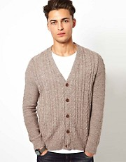 River Island - Cardigan a trecce