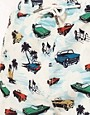 Image 3 ofRiver Island Car Print Swimshorts
