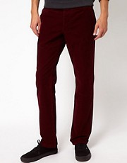 Selected Slim Cord Chinos