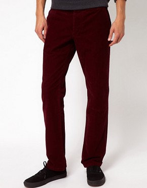 Image 1 ofSelected Slim Cord Chinos