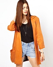 Just Female Draped Blazer