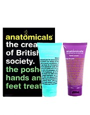 Anatomicals Natural The Posher Hands &amp; Feet Treat