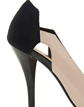 Image 2 ofASOS PROUD Pointed Platforms with Colour Block
