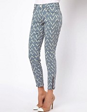Mango Ikat Skinny Jean