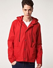 Peter Jensen Hooded Showerproof Jacket