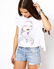 Camiseta Western Princess de Wildfox