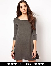 Vero Moda Swing Dress With 3/4 Sleeve