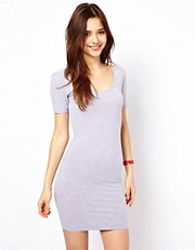 American Apparel Jersey U Neck Dress