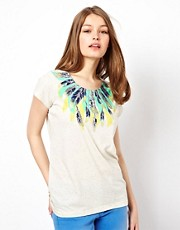 A Wear Feather Print Tee