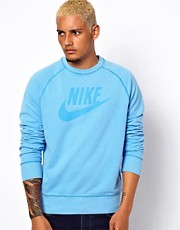 Nike Sweatshirt with Washed Icon Logo