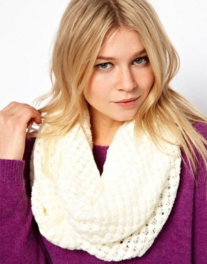 Image 1 ofWarehouse Open Weave Scarf