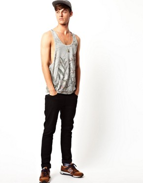 Sale alerts for  ASOS Vest With All Over Botannical Print - Covvet