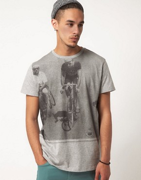 Image 1 of55DSL T-shirt Cyclist Print