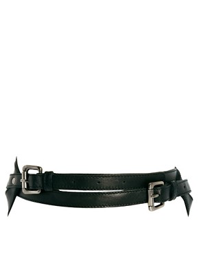 Image 2 ofUrban Code Leather Harness Belt