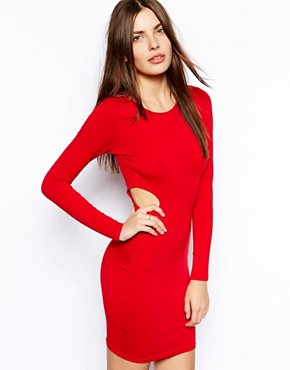 AX Paris Bodycon Dress with Cut-Out Waist