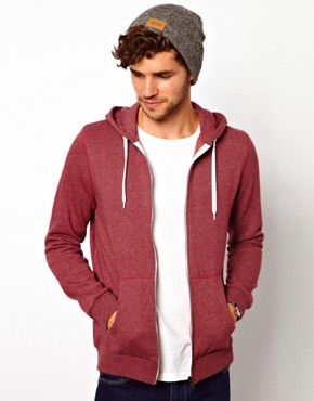 Image 2 ofASOS Zip-Through Hoodie