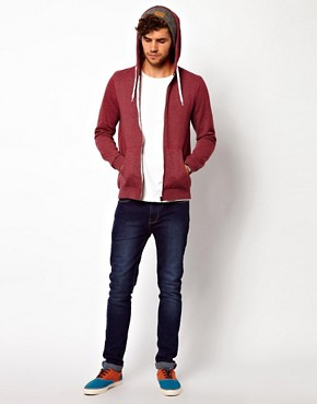 Image 4 ofASOS Zip-Through Hoodie