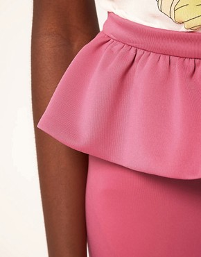 Image 3 ofASOS Cute Peplum Frill Mini Skirt