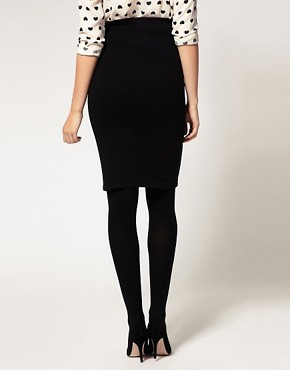 Image 2 ofASOS Maternity Exclusive Pencil Skirt in Ponte