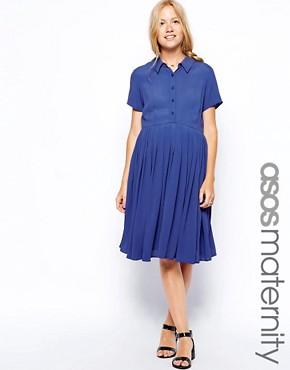 ASOS Maternity Exclusive Shirt Dress