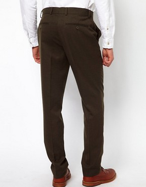 Image 2 ofASOS Slim Fit Smart Trousers