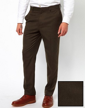 Image 1 ofASOS Slim Fit Smart Trousers