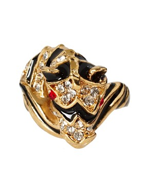 Image 2 ofKenneth Jay Lane Zebra Ring