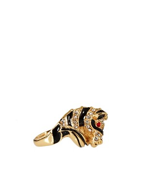 Image 4 ofKenneth Jay Lane Zebra Ring