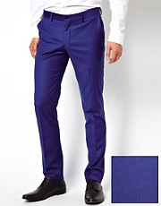 Selected Skinny Fit Suit Trousers