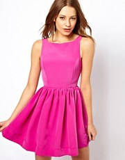 American Apparel Button Back Swing Dress