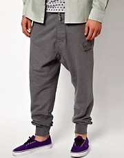 Vivienne Westwood MAN Sweat Trousers with Crown Print