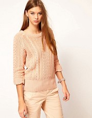 G-Star Cable Knit Jumper