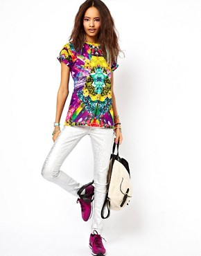 Image 4 ofASOS T-Shirt with Digital Print