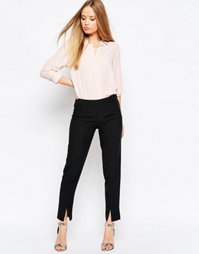 ASOS Cigarette Pants with Split Front