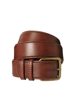 Image 1 ofPieces Bella Square Buckle Belt