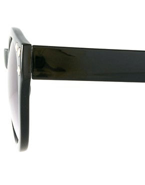 Image 4 ofASOS Studded Round Sunglasses