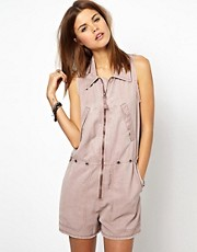 Diesel Zip Front Playsuit