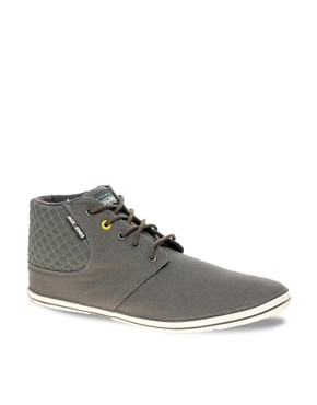 Image 1 ofJack &amp; Jones Intelligence Vertu Canvas Chukka Boots