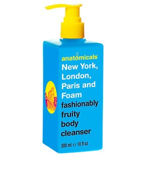 Image 1 ofAnatomicals New York London Paris And Foam Body Cleanser 300ml