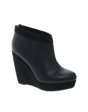 Image 1 ofNew Look Dada Wedge Shoe Boots