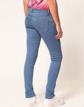 Image 2 ofA Wear Light Wash Skinny Jean
