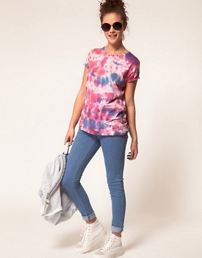 Image 4 ofA Wear Light Wash Skinny Jean
