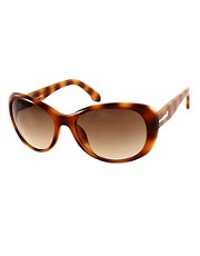 CK by Calvin Klein Havana Sunglasses