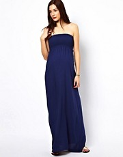 New Look Maternity Shirred Bandeau Maxi